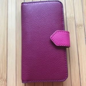 Fossil magnetic phone case/wallet for iPhone 7
